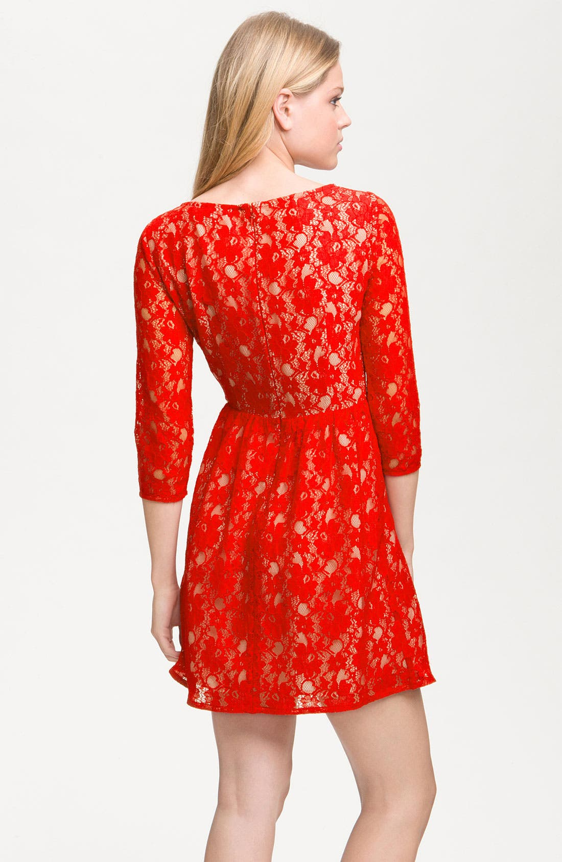 Alternate Image 2  - French Connection 'Lizzie' Lace Dress