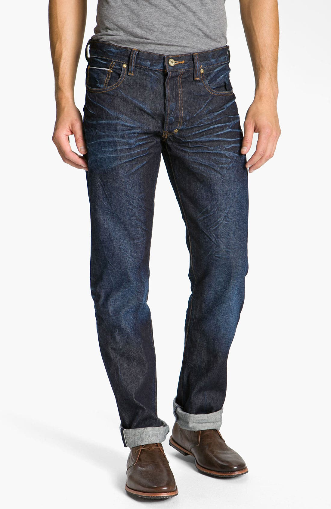 Alternate Image 2  - PRPS 'Snowy Crevasses Barracuda' Straight Leg Jeans (1 Year Wash)