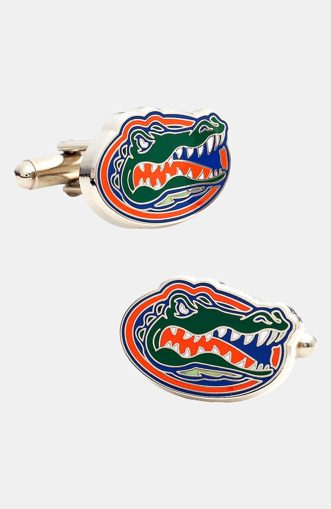 Alternate Image 1 Selected - Cufflinks, Inc. 'University of Florida Gators' Cuff Links