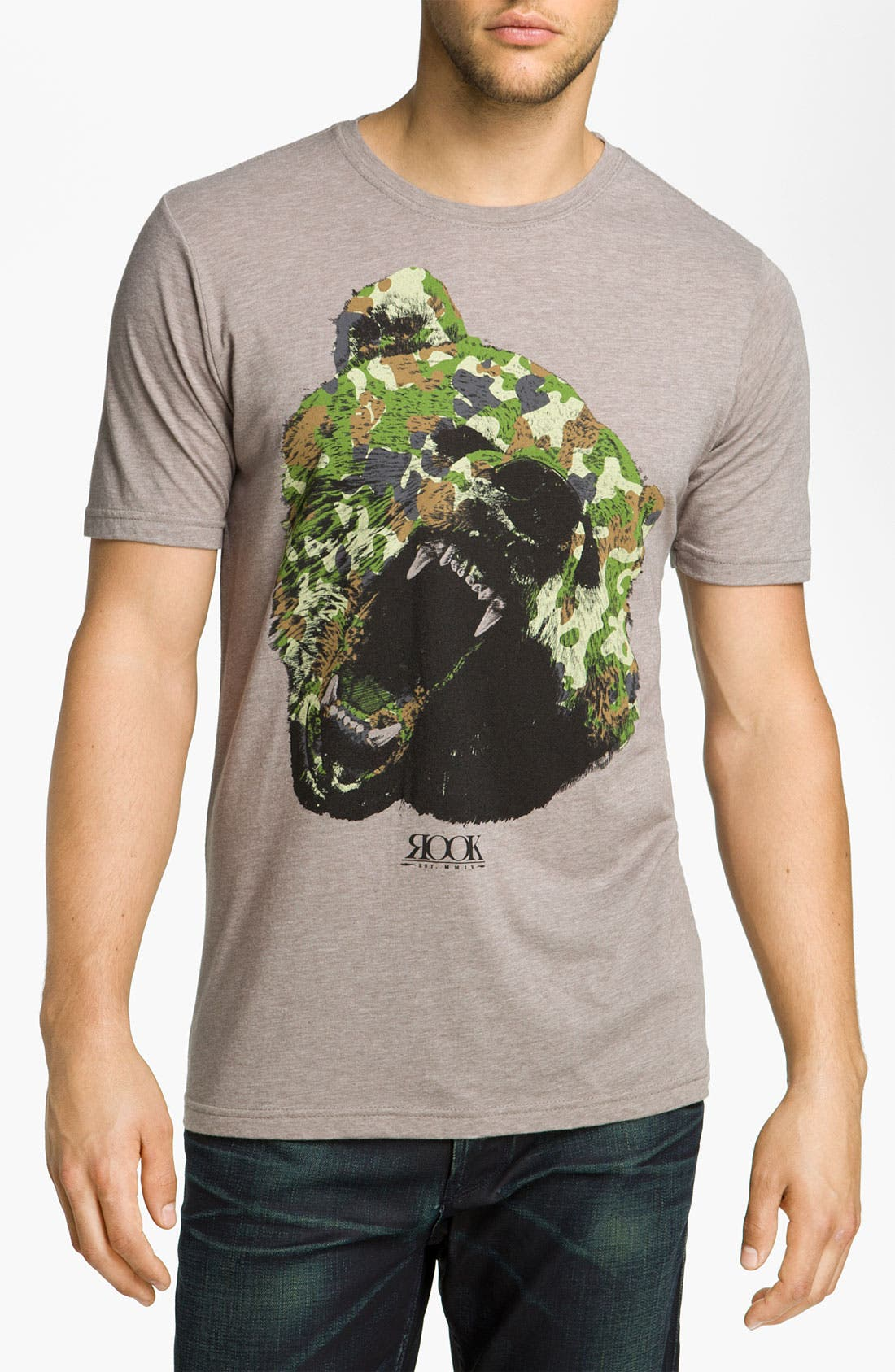 Main Image - Rook 'Camo Bear' Graphic T-Shirt