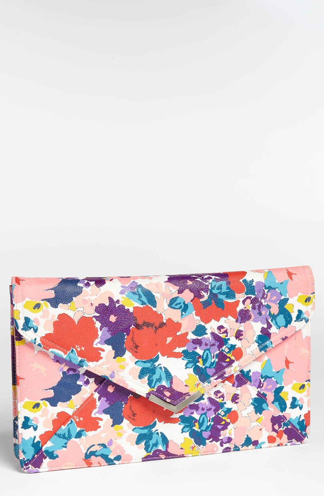 Main Image - Lulu Floral Clutch