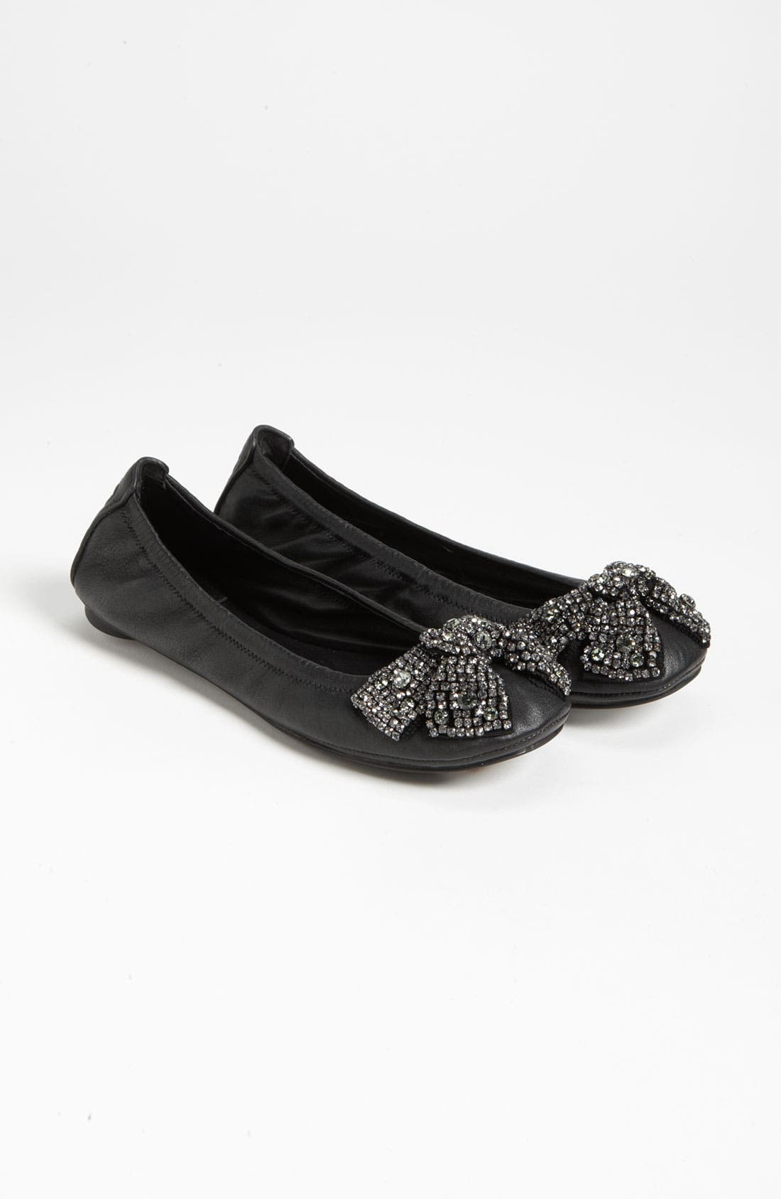Alternate Image 4  - Tory Burch 'Eddie' Bow Flat