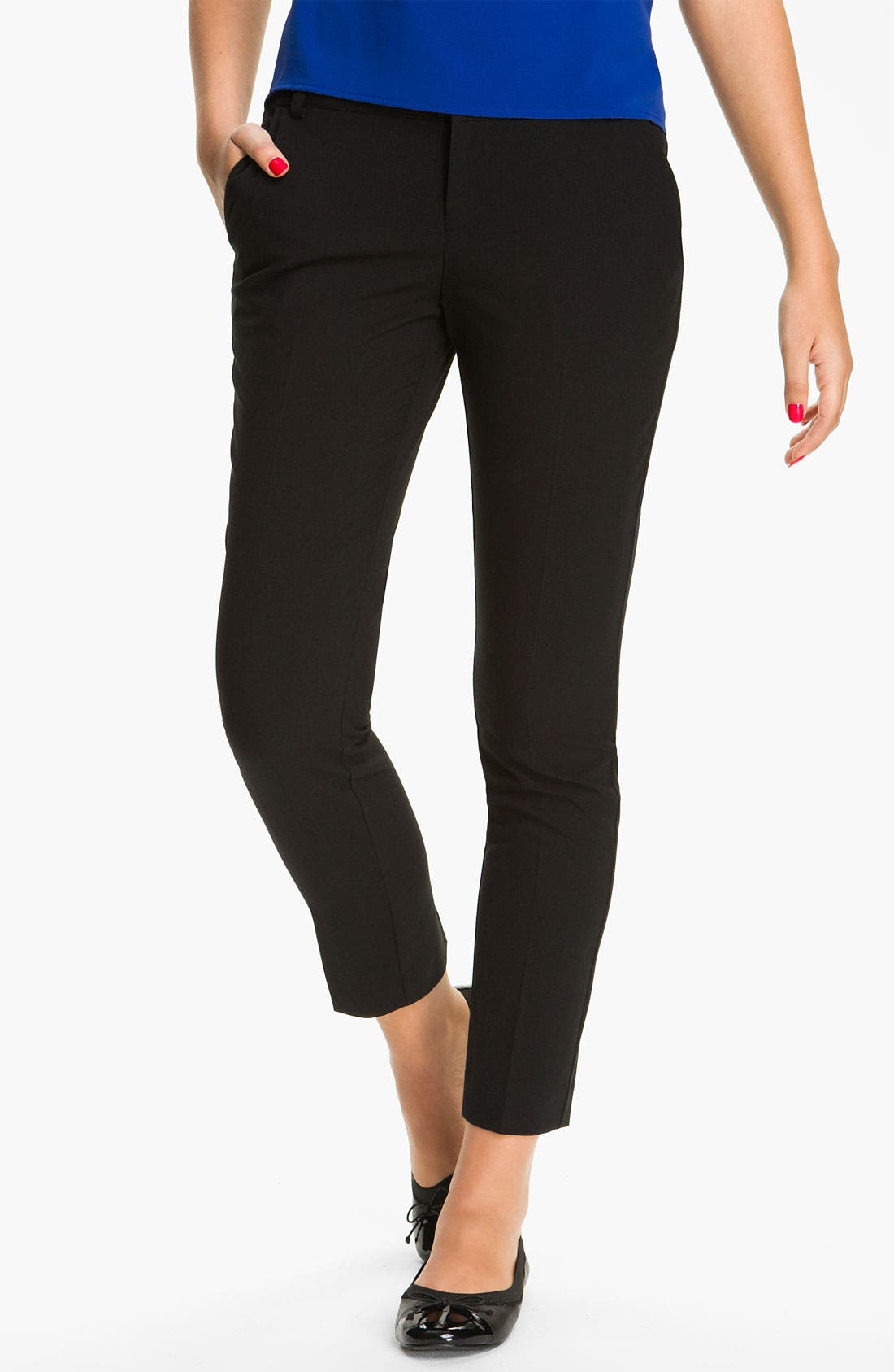 Alternate Image 1 Selected - BP. Slim Ankle Pants (Juniors)