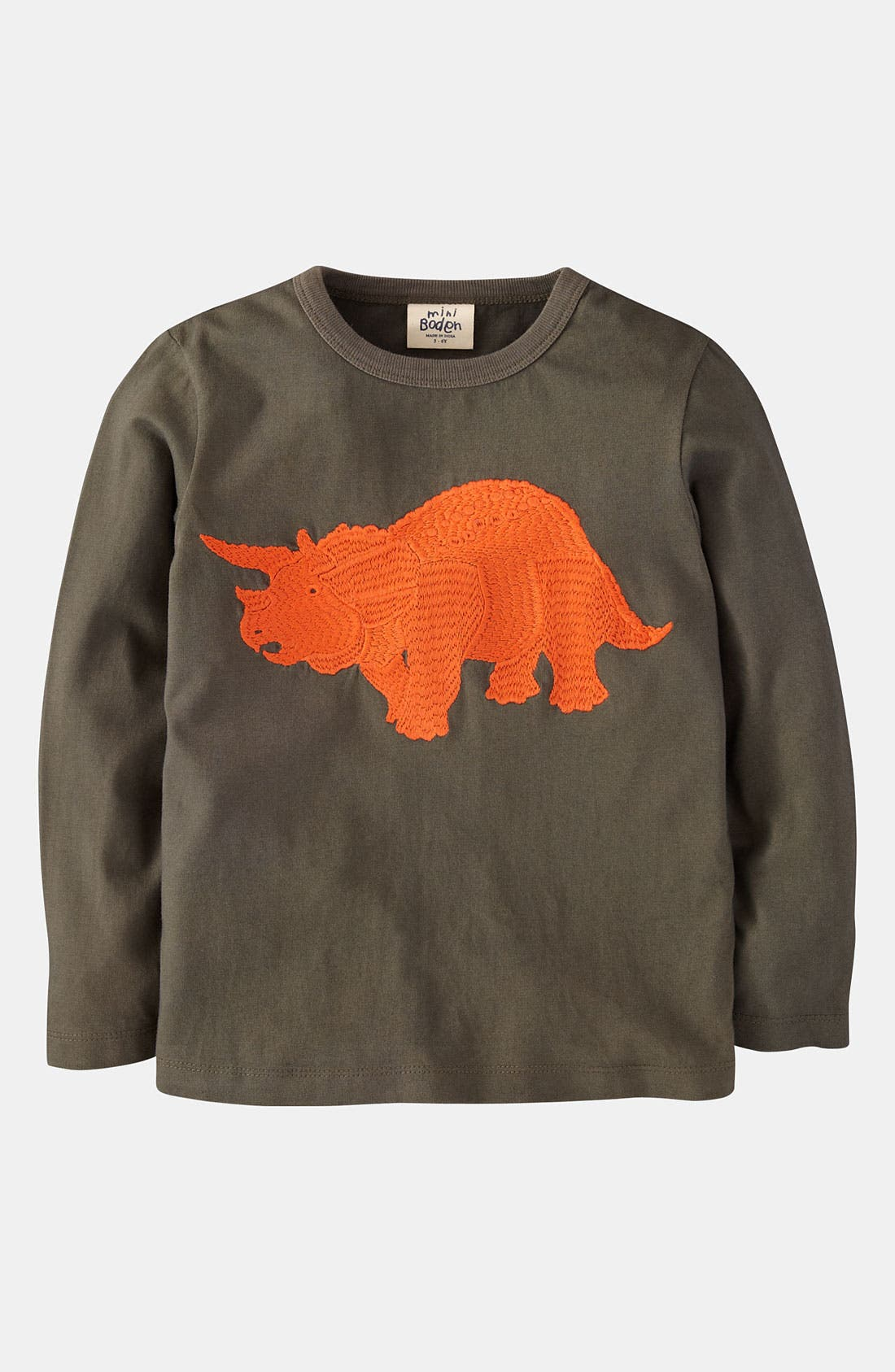 Alternate Image 1 Selected - Mini Boden 'Super Stitch' T-Shirt (Toddler)
