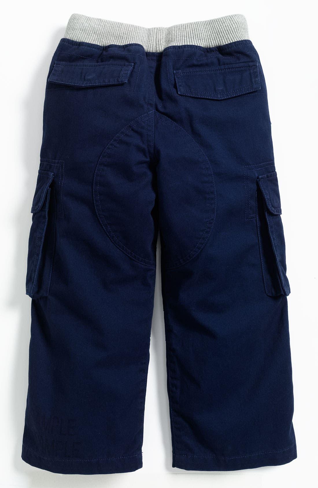 Alternate Image 2  - Mini Boden Ribbed Waist Cargo Pants (Toddler)