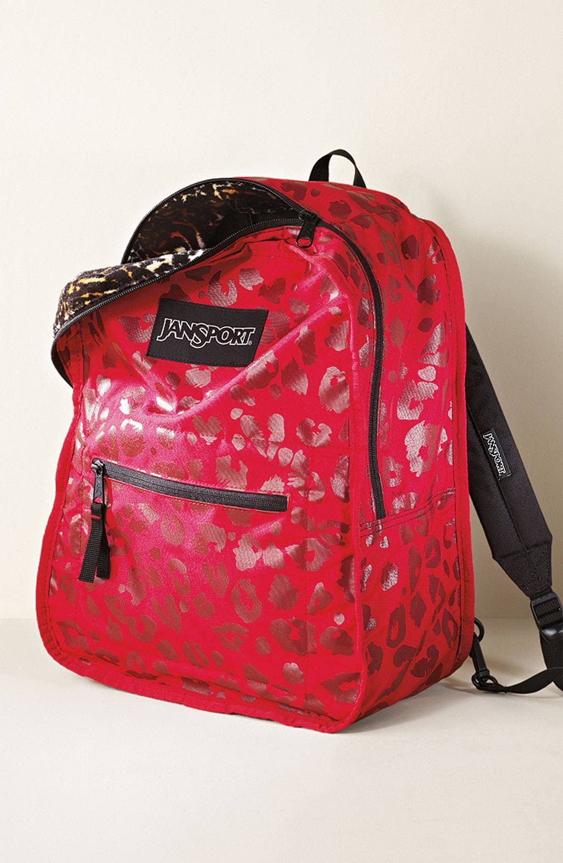 Alternate Image 6  - Jansport Animal Print Reversible Backpack