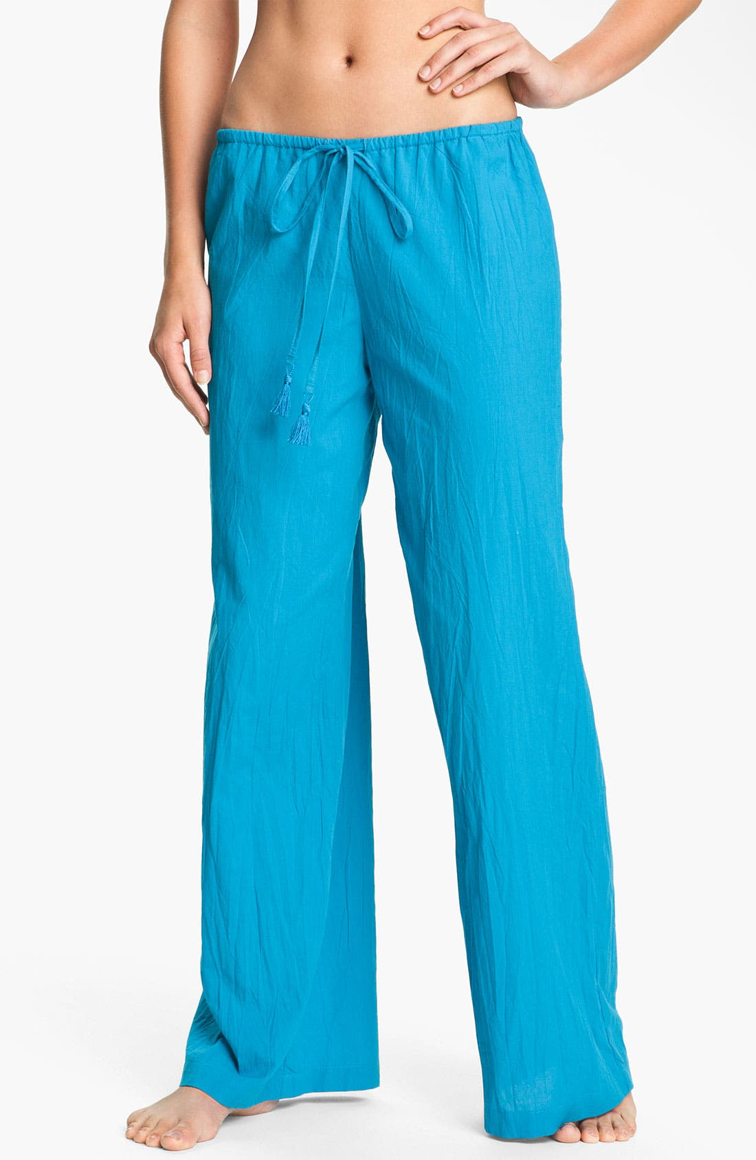 Alternate Image 1 Selected - Tommy Bahama Crinkle Drawstring Pants