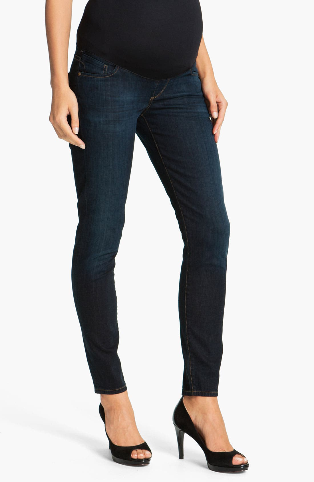 Alternate Image 1 Selected - Citizens of Humanity 'Ava' Maternity Straight Leg Jeans (Faith)