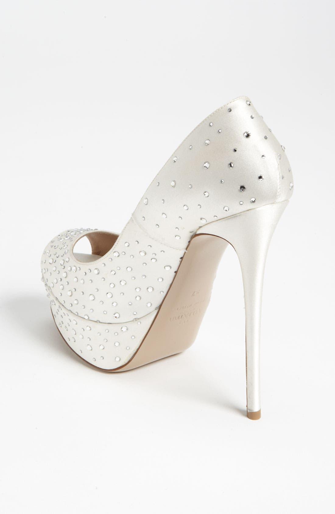 Alternate Image 2  - Valentino 'Bridal' Open Toe Pump