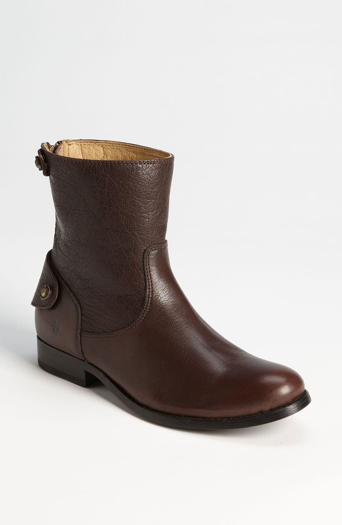 Main Image - Frye 'Button Zip' Short Boot