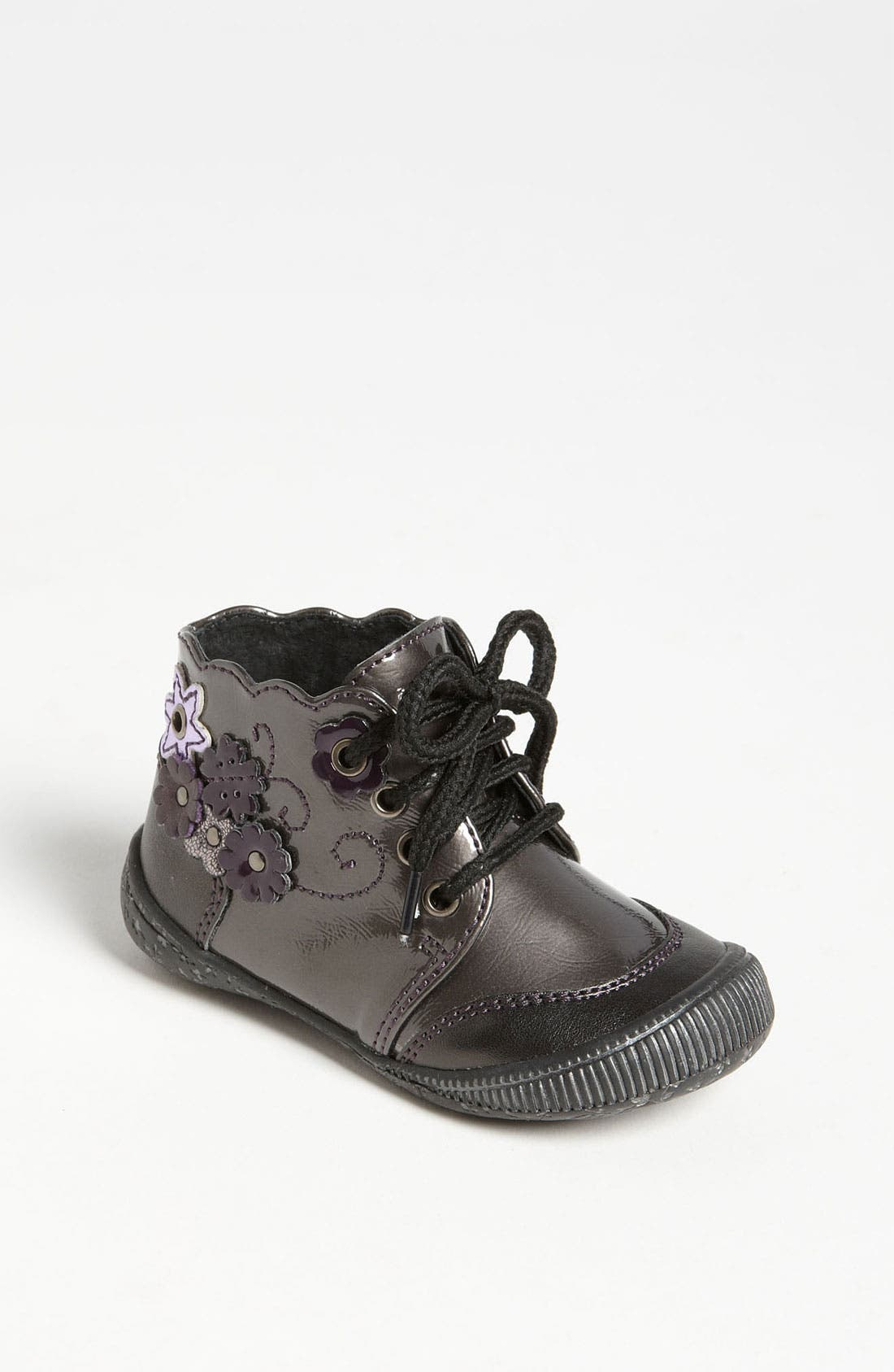 Alternate Image 1 Selected - Laura Ashley Bootie (Walker & Toddler)