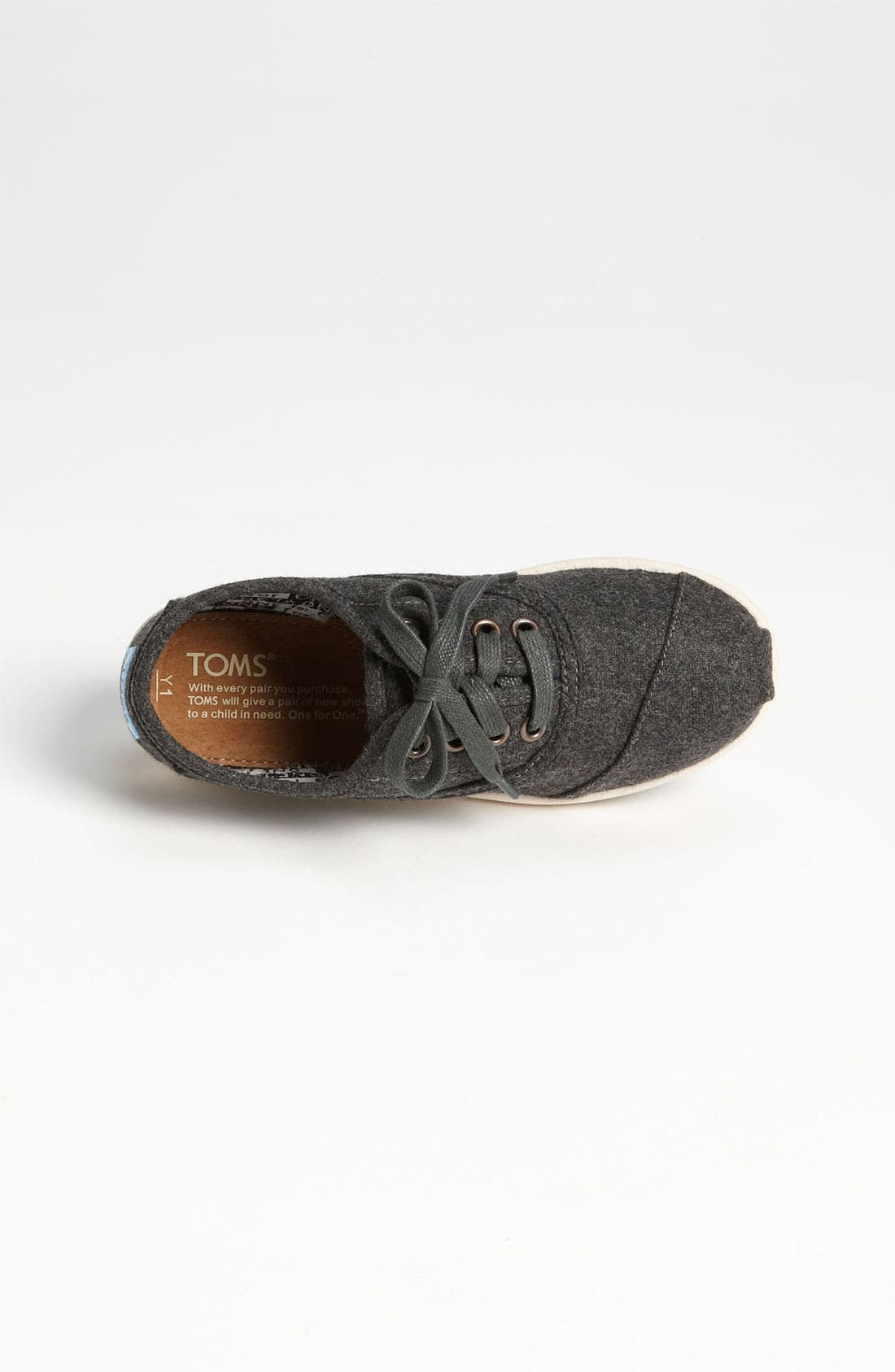 Alternate Image 3  - TOMS 'Cordones - Youth' Slip-On (Toddler, Little Kid & Big Kid)