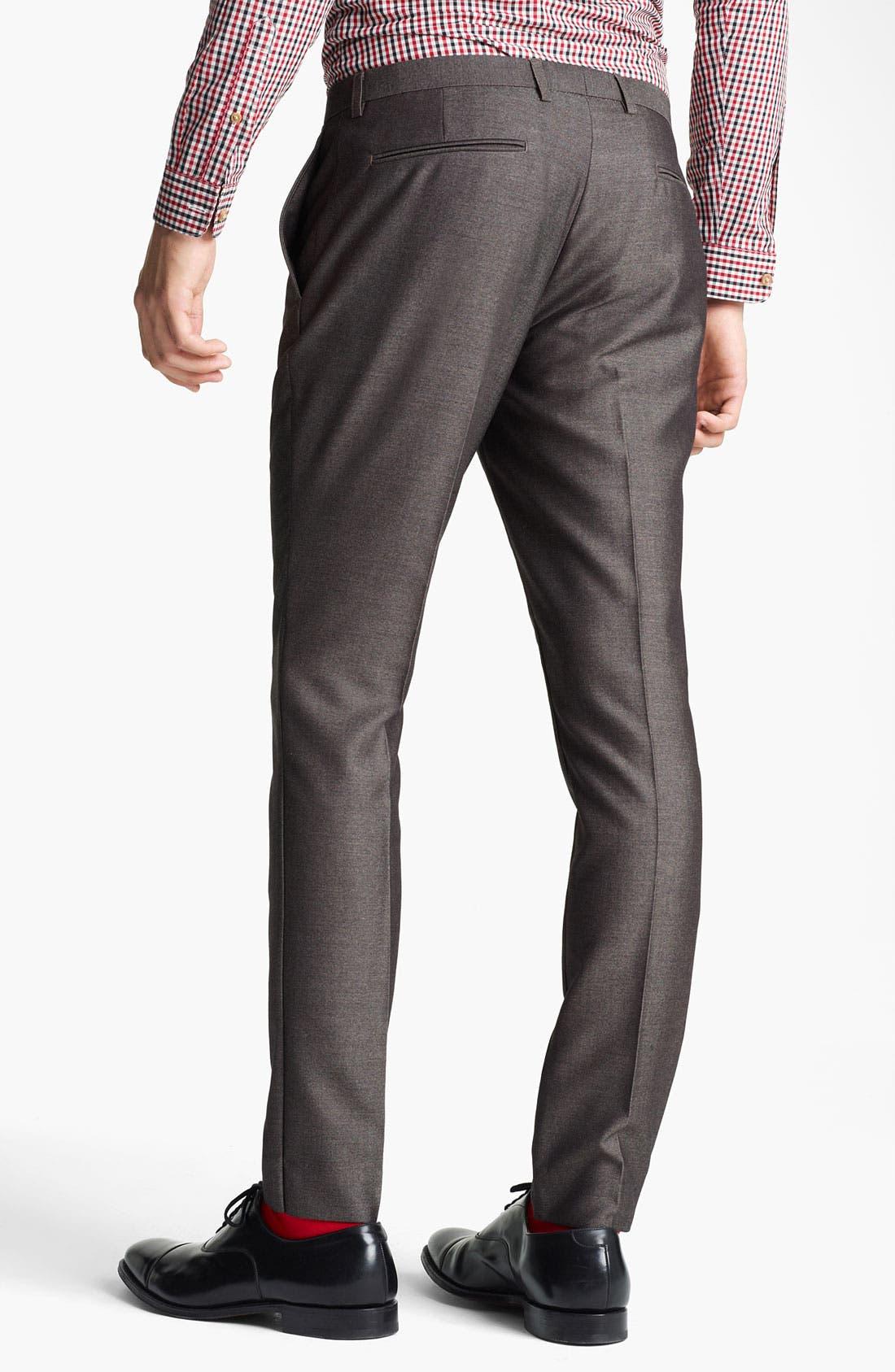 Alternate Image 2  - Topman 'Taylor' Skinny Trousers