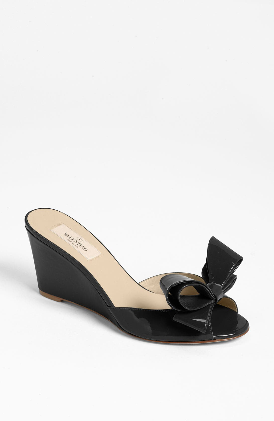 Alternate Image 1 Selected - Valentino Bow Wedge Sandal