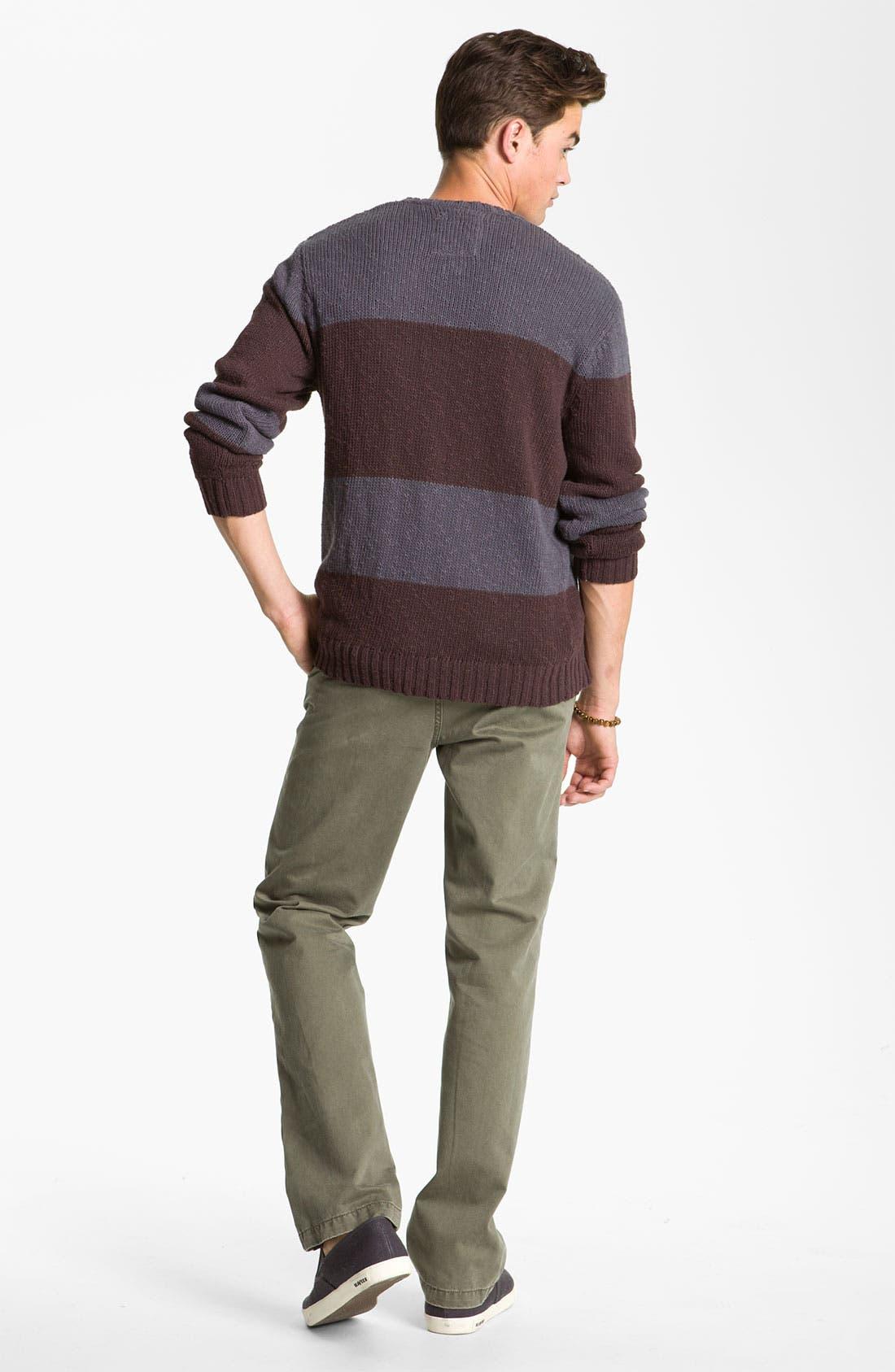 Alternate Image 5  - VSTR 'Saltie' Stripe Crewneck Sweater