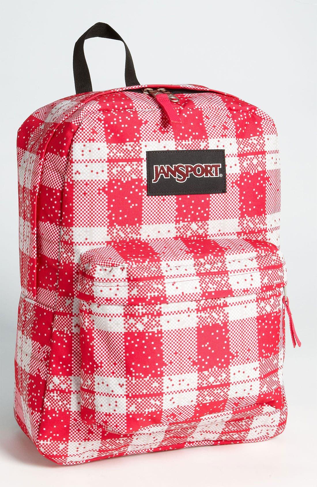 Alternate Image 1 Selected - Jansport Backpack (Girls)