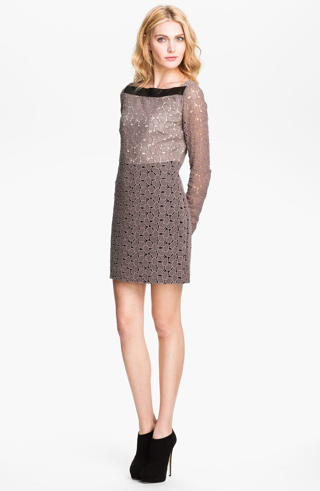 Alternate Image 1 Selected - Diane von Furstenberg 'New Sarita Pebble' Lace Shift Dress