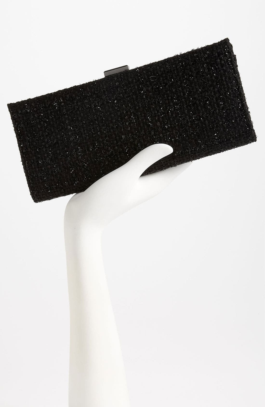 Alternate Image 2  - Jessica McClintock Elongated Tweed Clutch