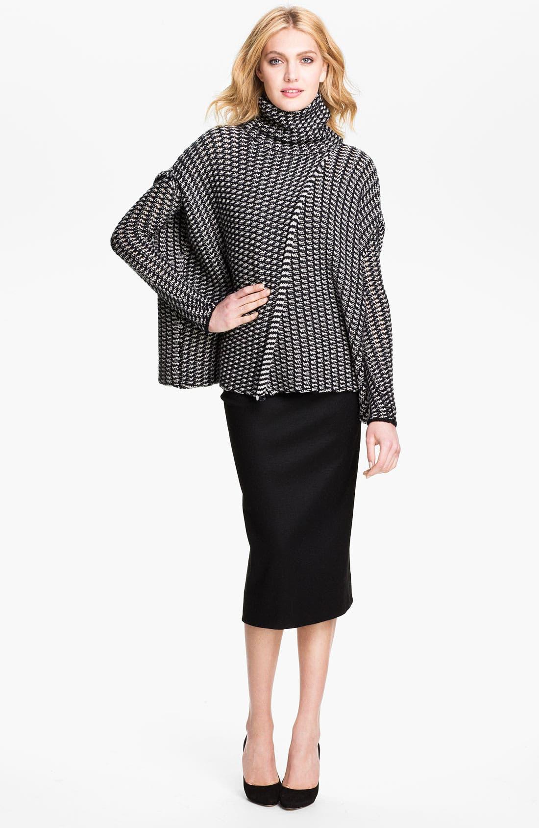 Alternate Image 1 Selected - Diane von Furstenberg 'Ahiga' Sweater Cape