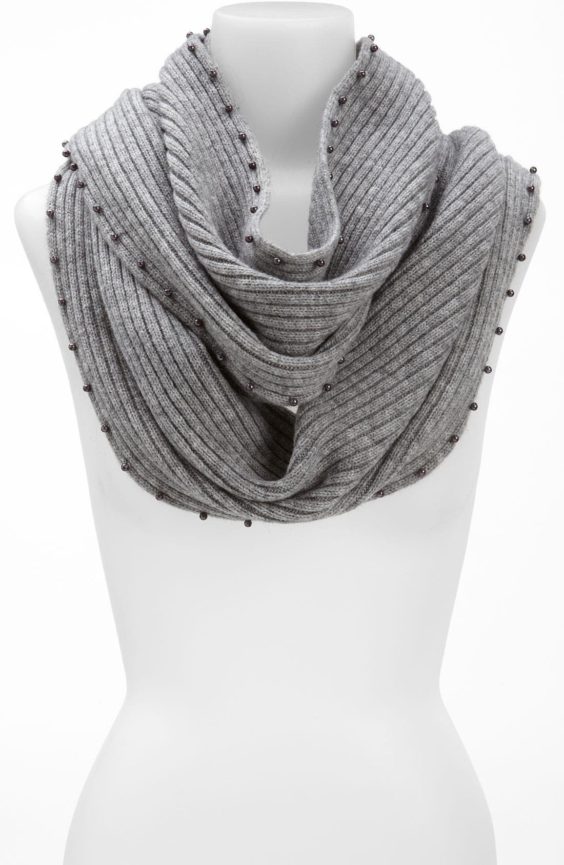 Alternate Image 1 Selected - Laundry by Shelli Segal Wool Infinity Scarf
