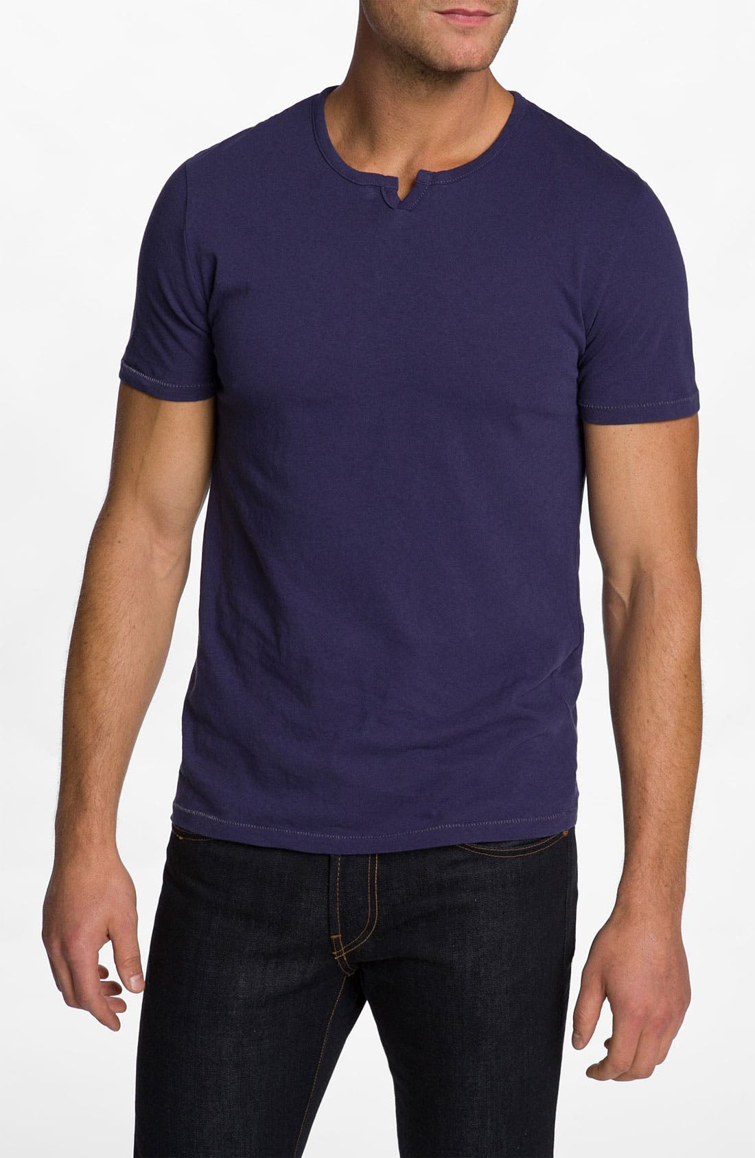 Alternate Image 1 Selected - Alternative 'Rusty Moroccan' Split Crewneck T-Shirt