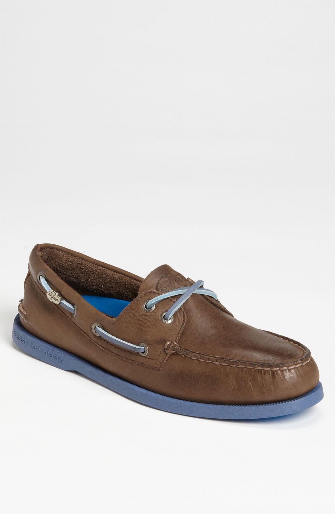 Main Image - Sperry Top-Sider® 'Authentic Original' Burnished Boat Shoe