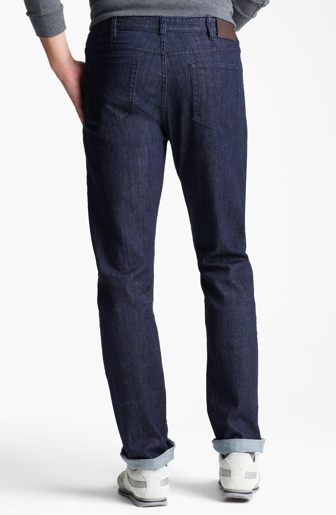 Alternate Image 2  - Zegna Sport Straight Leg Jeans