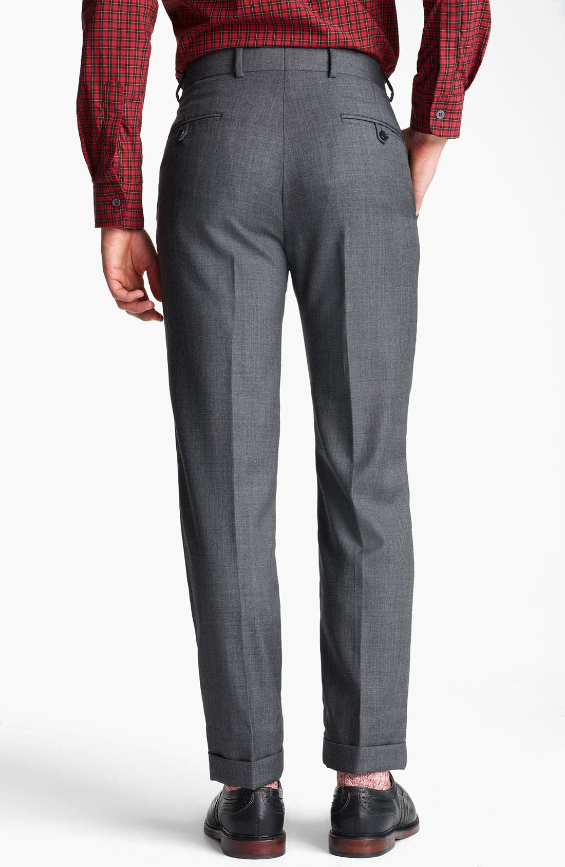 Alternate Image 5  - Billy Reid 'Campbell Nailhead - Heirloom Collection' Wool Suit