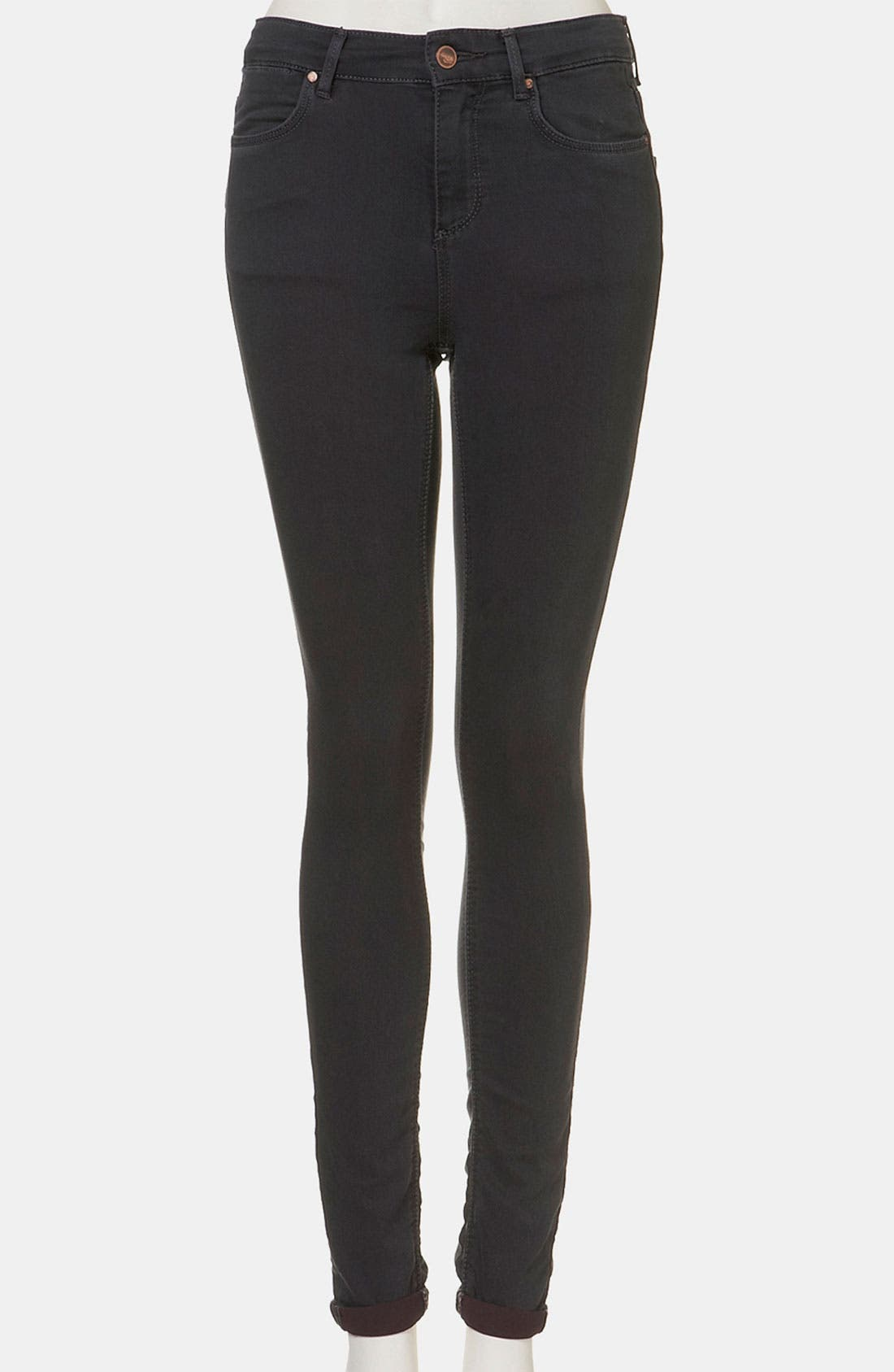 Main Image - Topshop Moto 'Leigh' Skinny Jeans