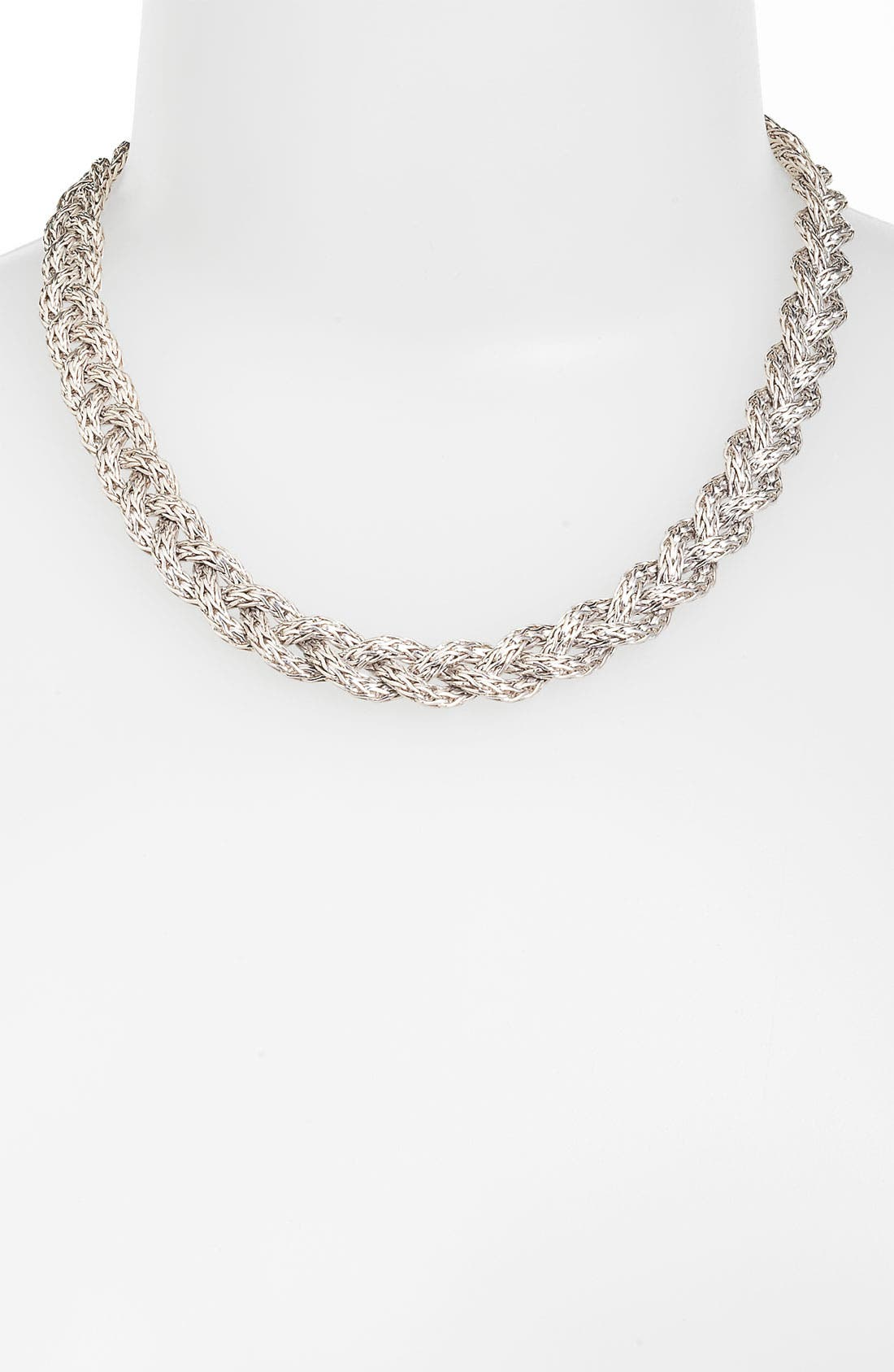 Alternate Image 1 Selected - John Hardy 'Classic Chain' Small Braided Chain Necklace