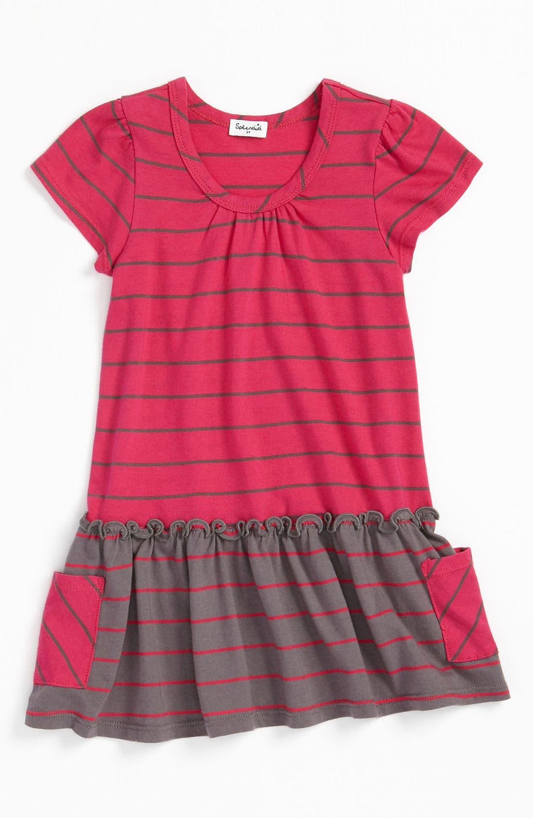 Alternate Image 1 Selected - Splendid 'Lacrosse' Stripe Dress (Toddler)
