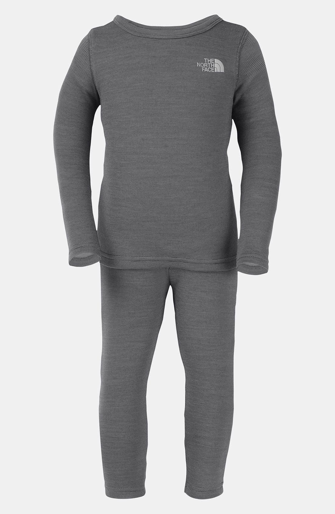 Alternate Image 1 Selected - The North Face 'Baselayer' Shirt & Leggings (Toddler)