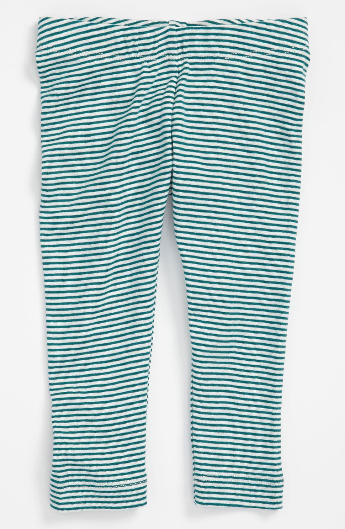 Alternate Image 1 Selected - Tea Collection 'Skinny Stripe' Leggings (Little Girls & Big Girls)