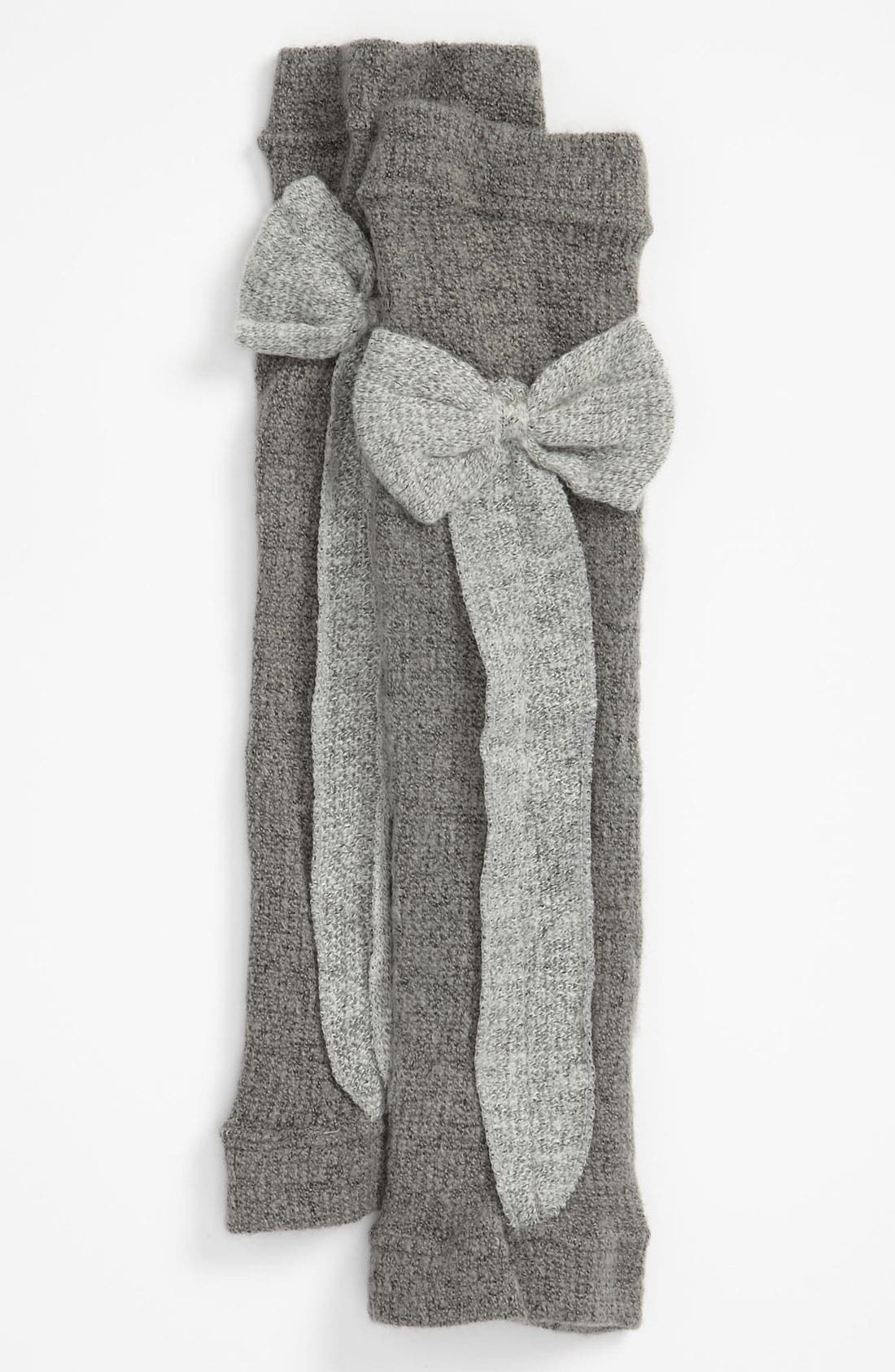 Alternate Image 1 Selected - Nordstrom 'Ribbon Bow' Leg Warmers (Girls)