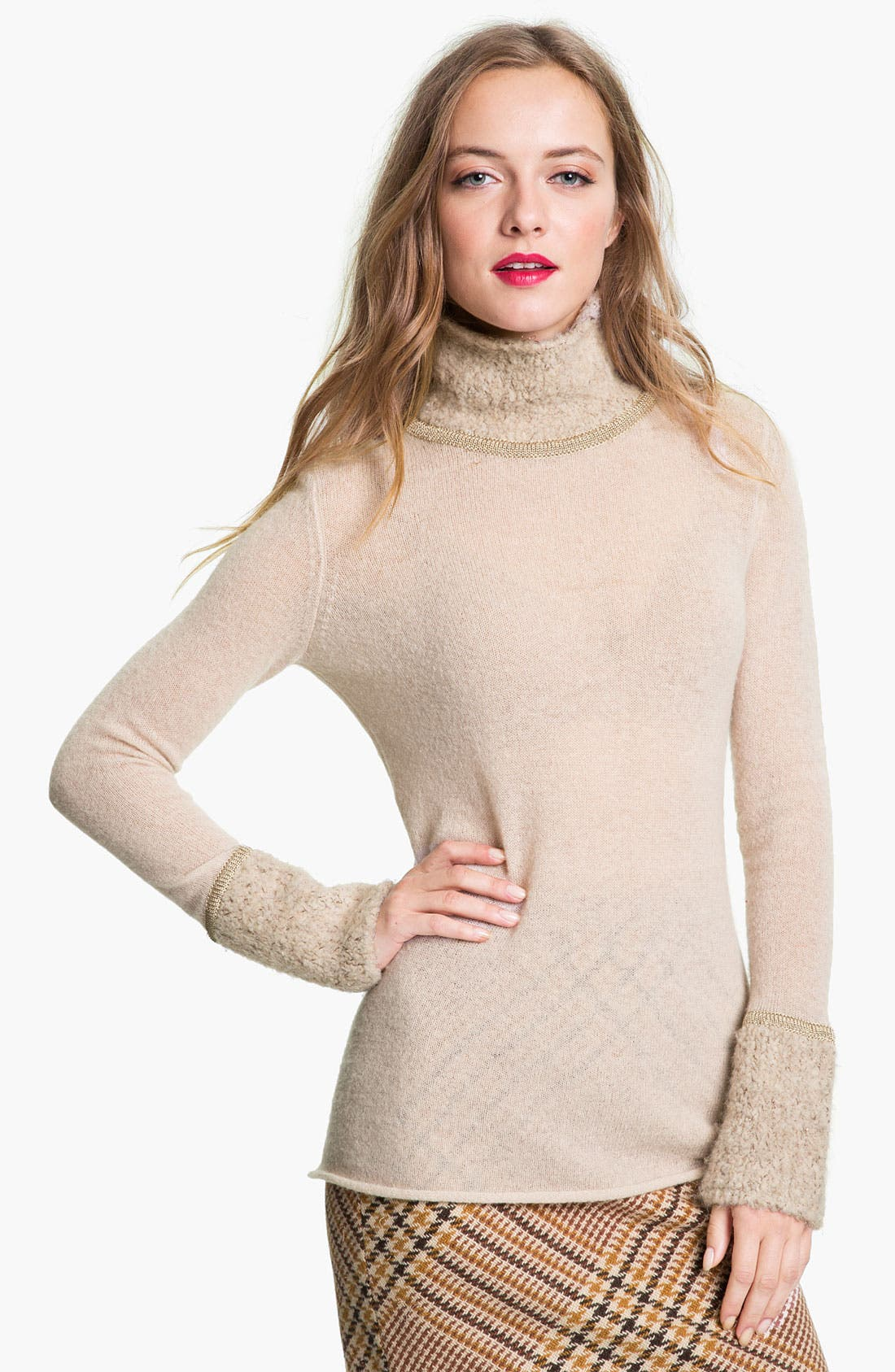 Alternate Image 1 Selected - Tory Burch 'Angelina'  Sweater