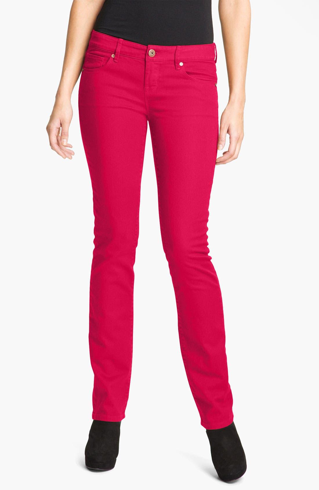 Alternate Image 1 Selected - Isaac Mizrahi Jeans 'Emma' Straight Leg Jeans