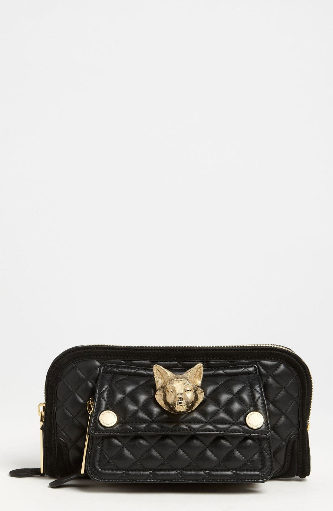 Alternate Image 1 Selected - Burberry Prorsum Quilted Leather Clutch