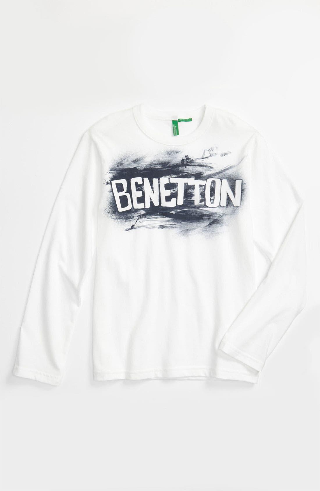 Alternate Image 1 Selected - United Colors of Benetton Kids 'Basic' T-Shirt (Little Boys & Big Boys)