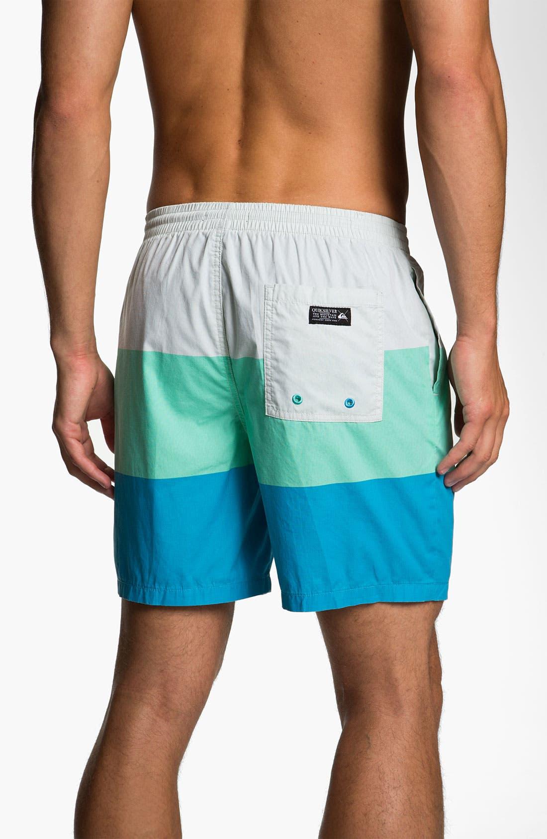 Alternate Image 2  - Quiksilver 'El Tropo' Swim Shorts