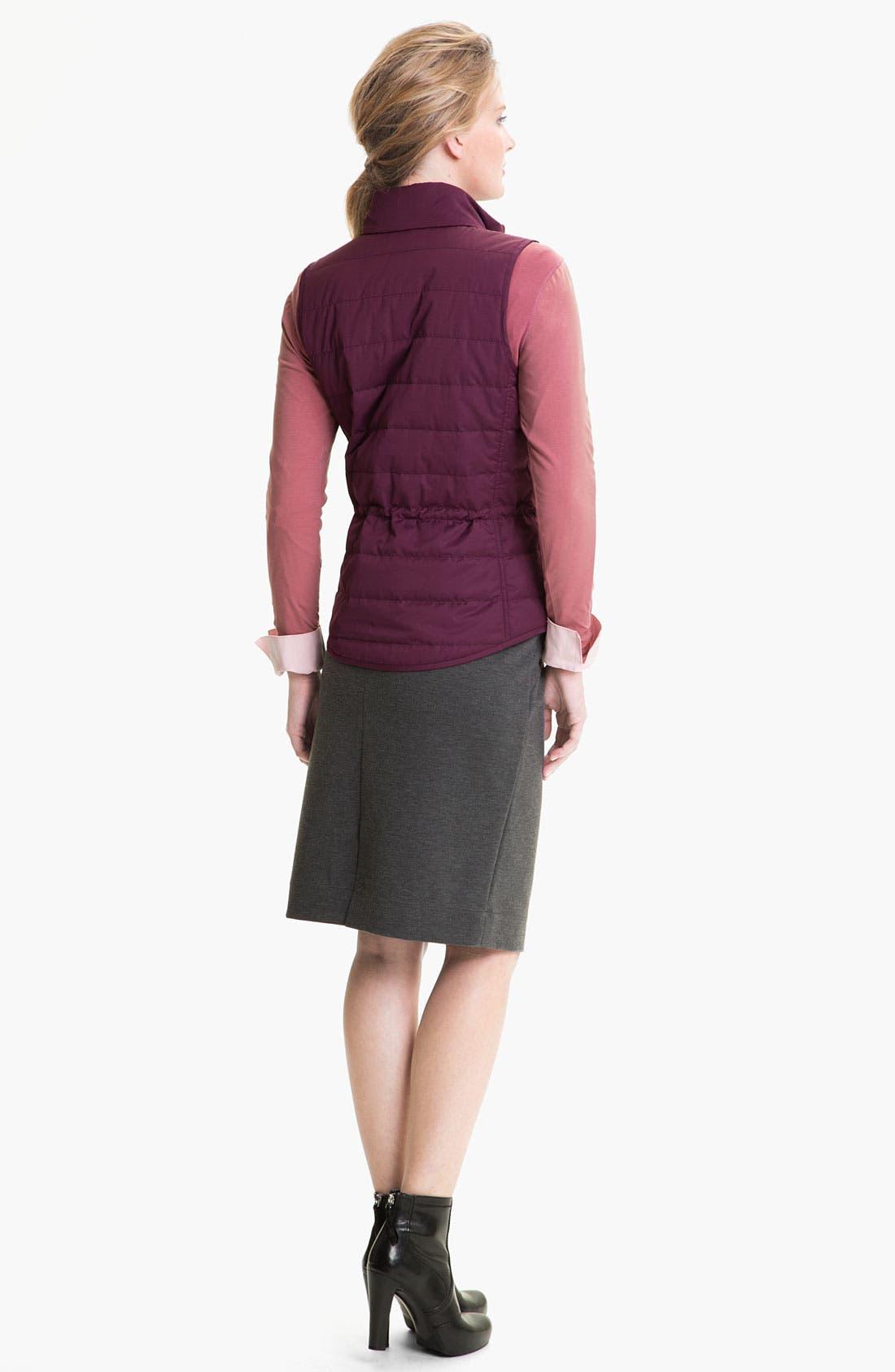 Alternate Image 5  - Lafayette 148 New York Heather Ponte Skirt