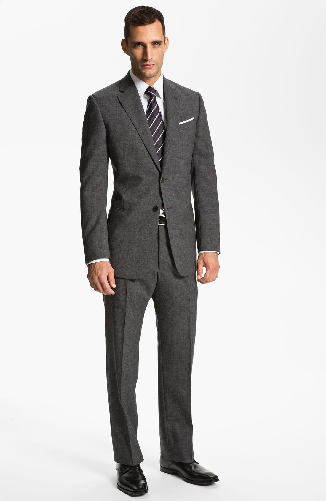 Alternate Image 2  - Armani Collezioni 'Giorgio' Trim Fit Suit