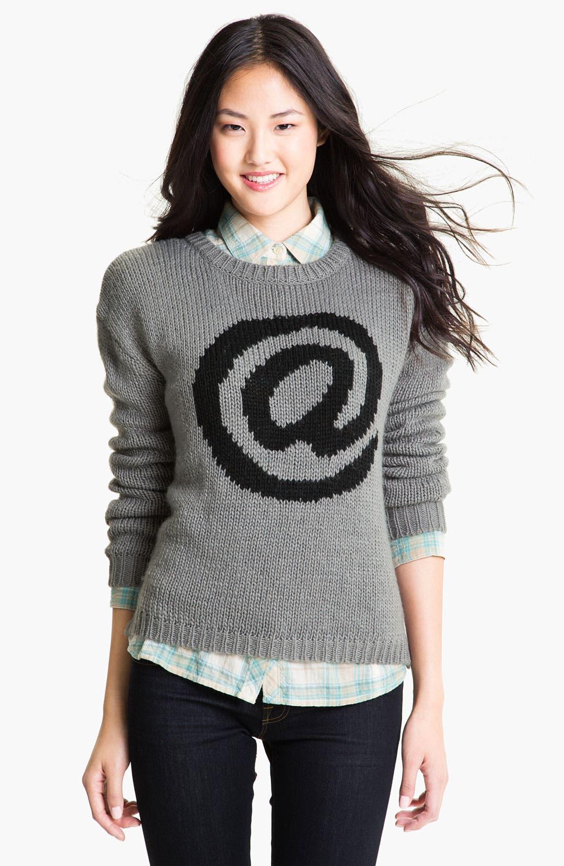 Alternate Image 1 Selected - Current Affair Intarsia Sweater