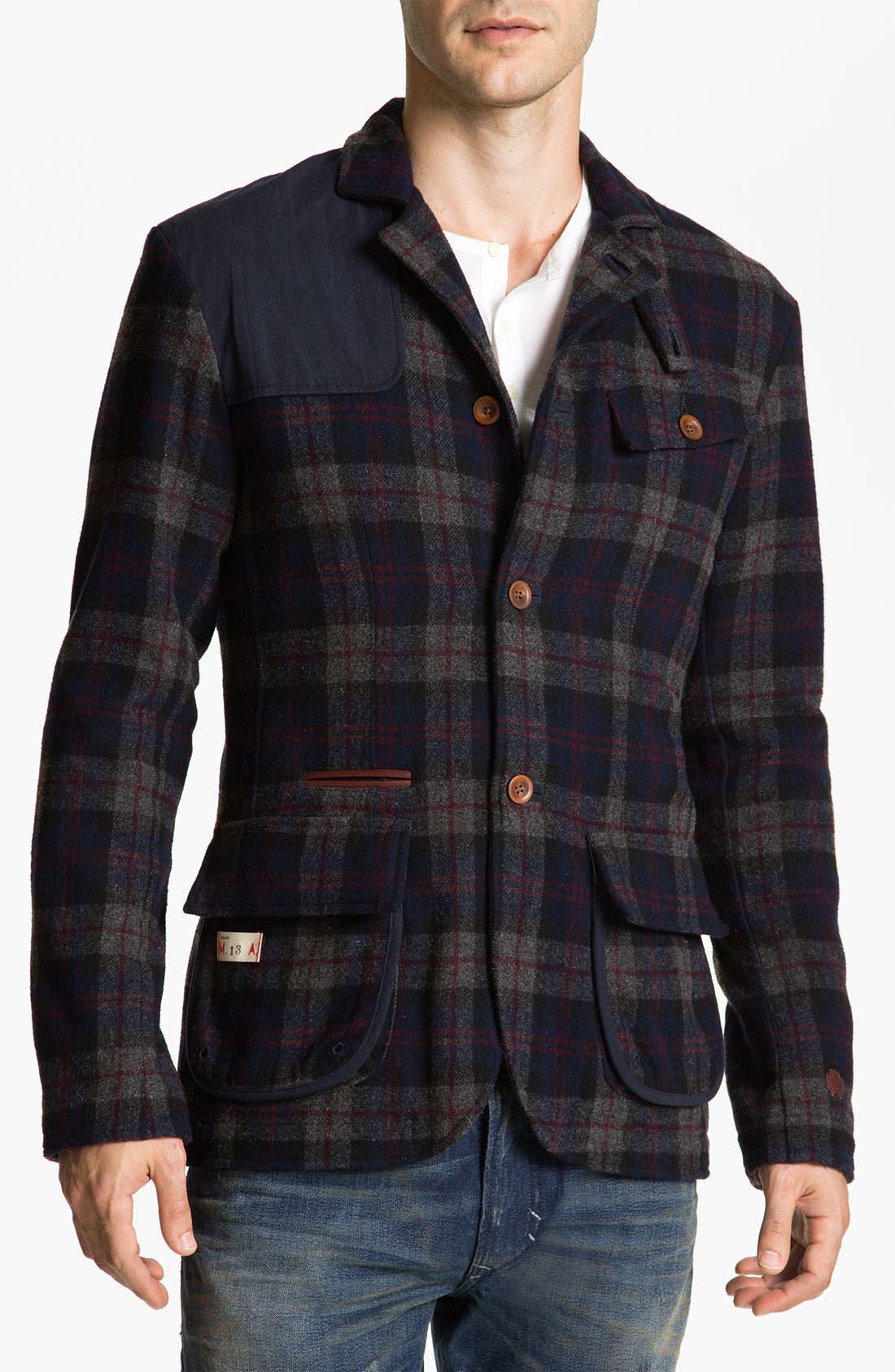 Alternate Image 1 Selected - Marshall Artist Tailored Golf Three-Button Blazer