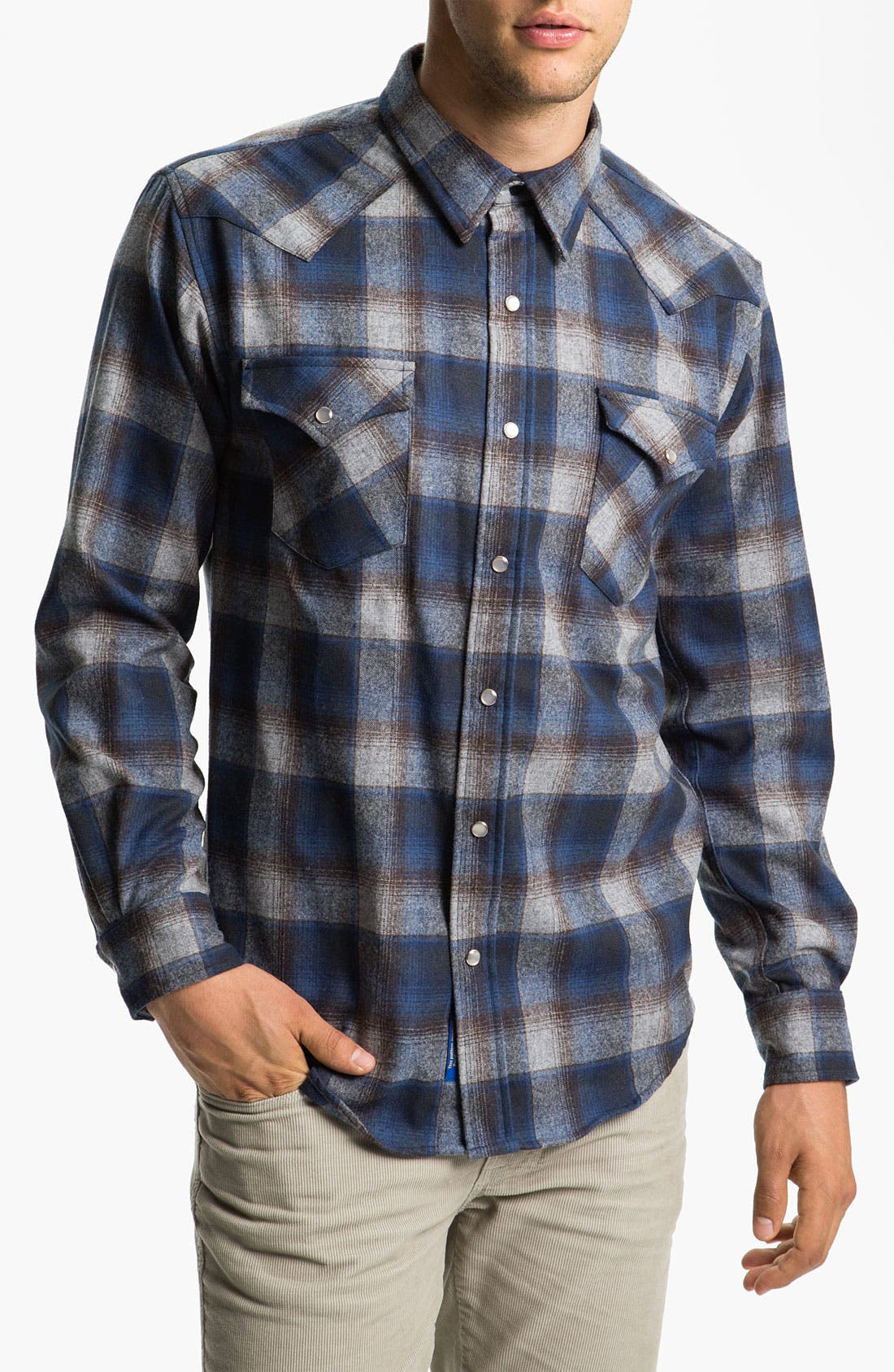 Main Image - Pendleton 'Canyon' Western Flannel Shirt