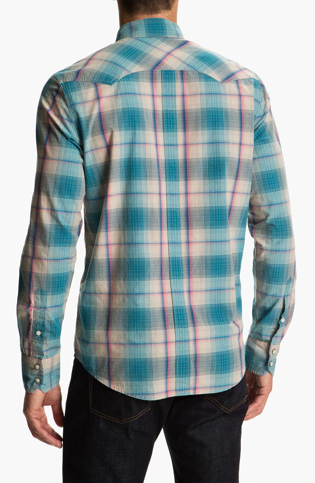 Alternate Image 2  - Ben Sherman 'Hoxton' Plaid Western Shirt