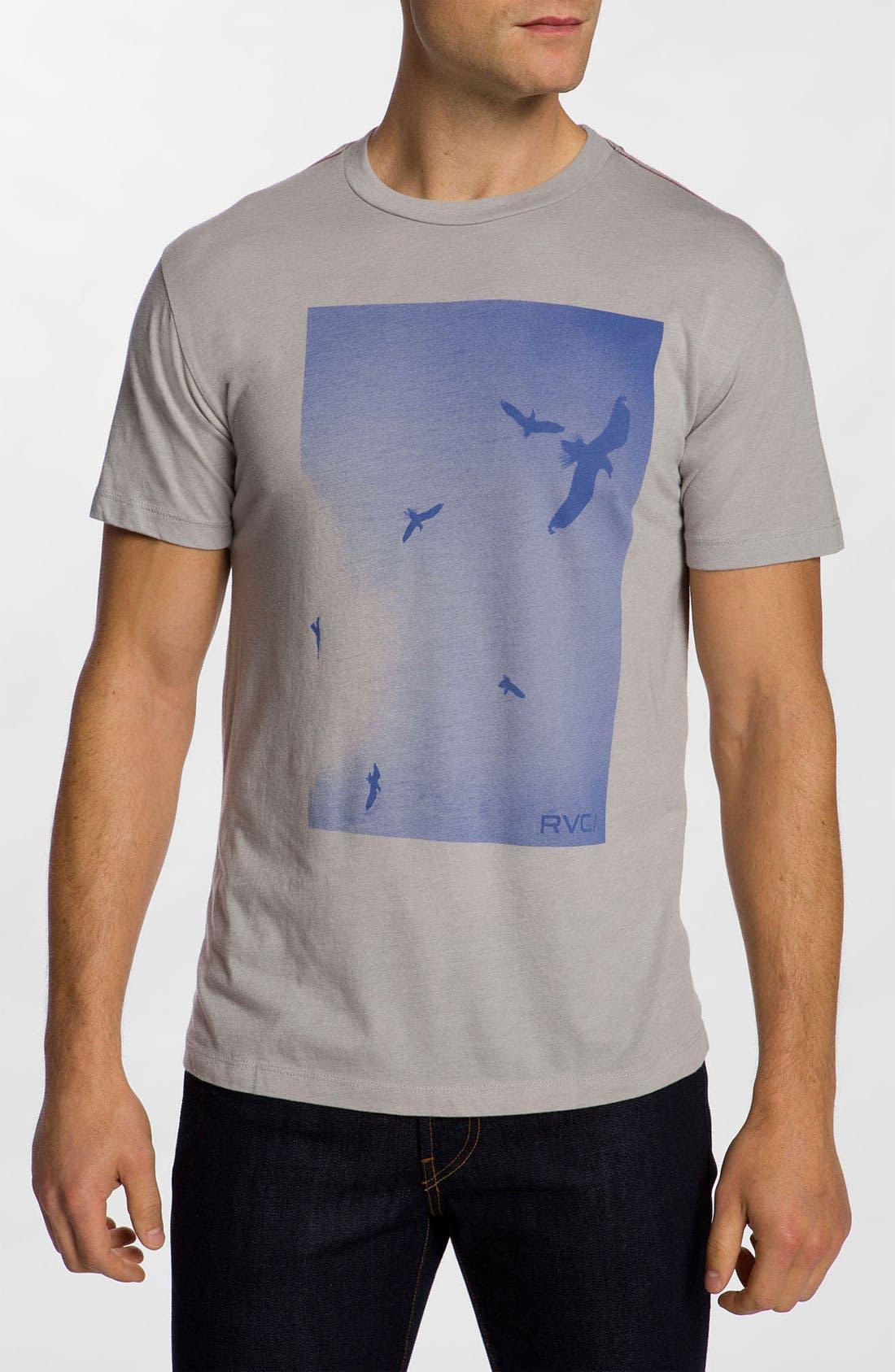 Alternate Image 1 Selected - RVCA 'Gulls' T-Shirt