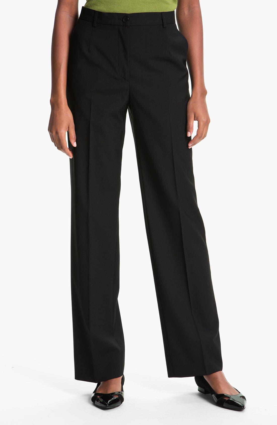 Alternate Image 1 Selected - Zanella 'Goldie' Stretch Wool Pants