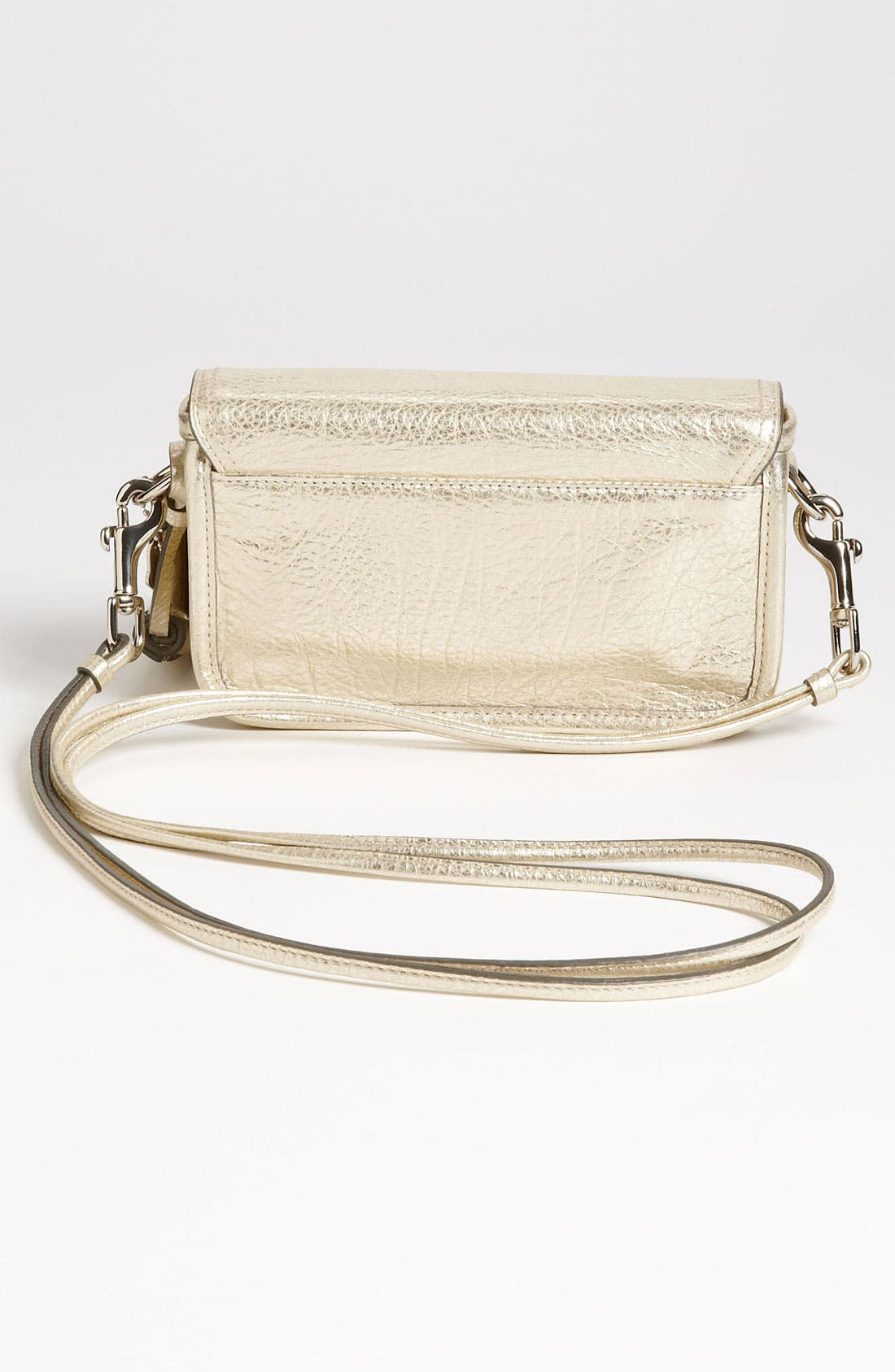 Alternate Image 4  - COACH 'Legacy - Penny' Metallic Leather Crossbody Bag