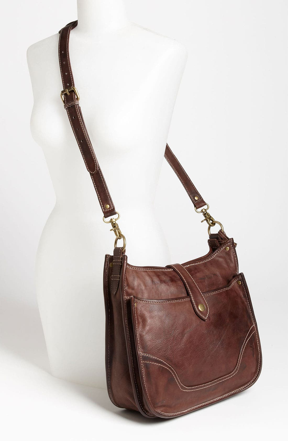 Alternate Image 2  - Frye 'Campus' Leather Crossbody Bag