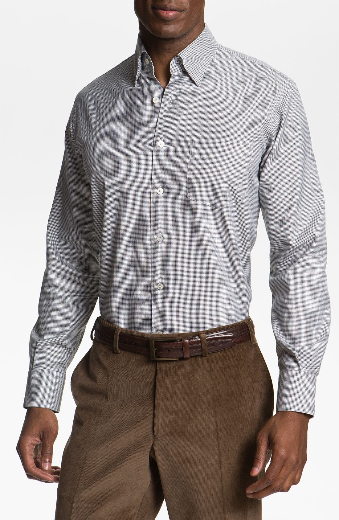 Main Image - Canali Regular Fit Sport Shirt